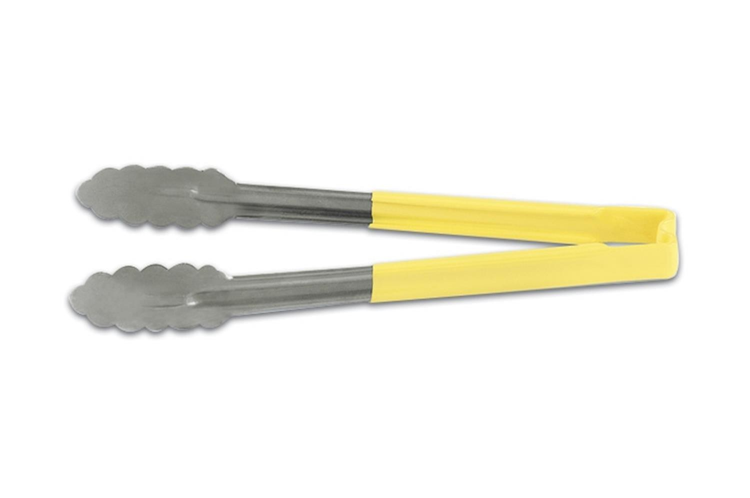 Vollrath 4781250 Kool-Touch Utility Tong with Yellow Handle 12""