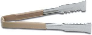 Vollrath 4790960 Kool-Touch VersaGrip Tong with Tan Handle 9-1/2""