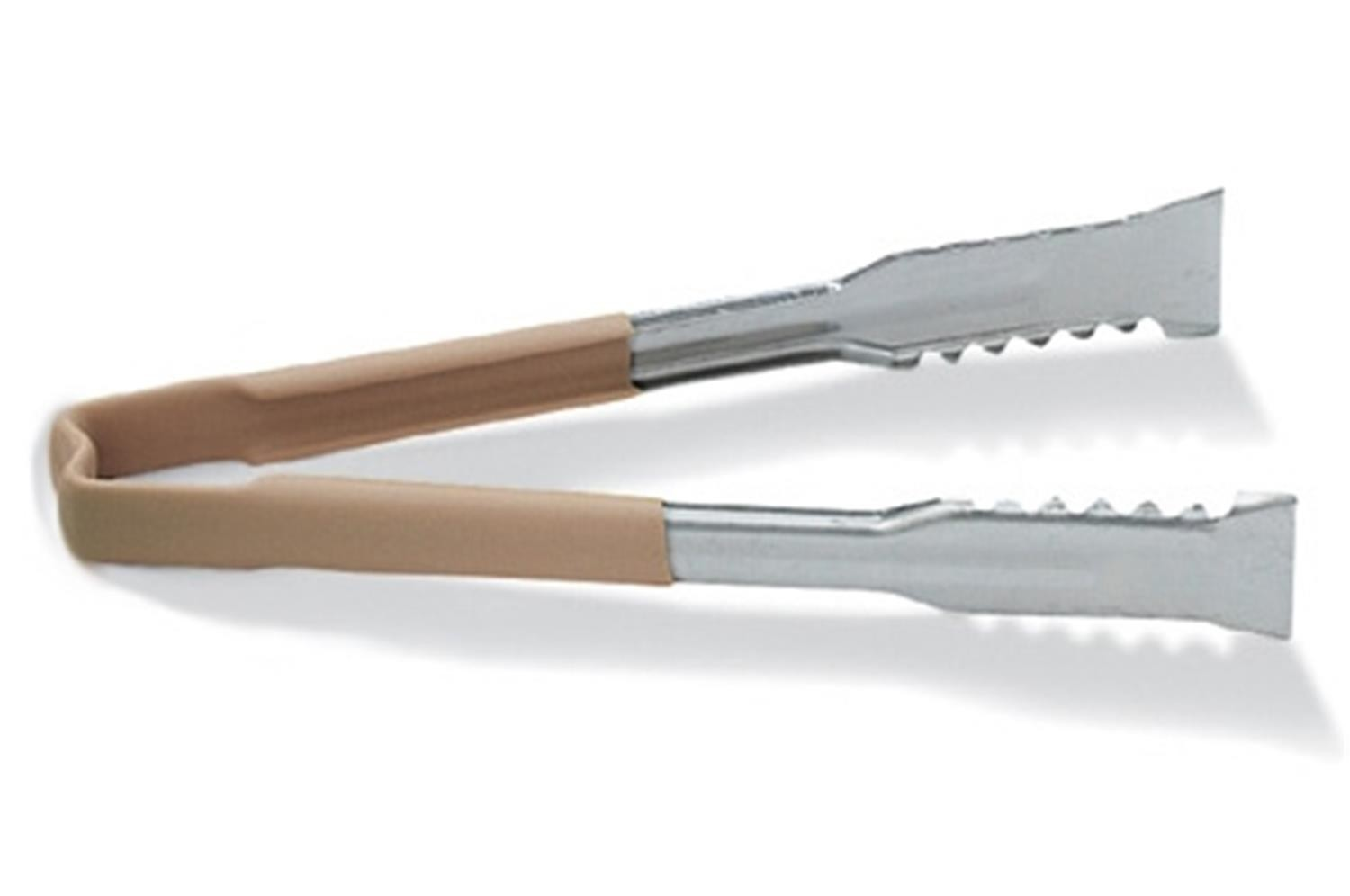 Vollrath 4791260 Kool-Touch VersaGrip Tong with Tan Handle 12""