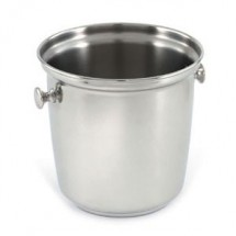 Vollrath 48330 Stainless Steel Silver Plated Wine Bucket with Handles