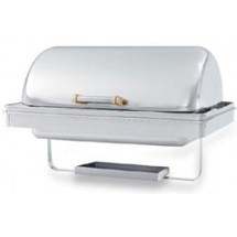 Vollrath 48758 Silverplated New York New York Drop In Retractable Rectangular Chafer 9 Qt.