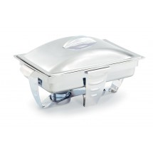 Vollrath 49520 Maximillian Steel Full Size Rectangular Chafer 9 Qt.