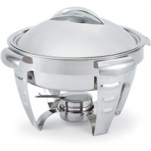 Vollrath 49522 Maximillian Steel Large Round Chafer 6 Qt.