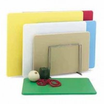 """Vollrath 5200311 Color-Coded Poly Cutting Board Set 18"""" x 24"""""""