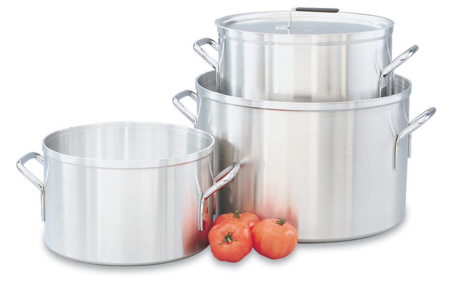 Vollrath 67414 Wear-Ever Classic Aluminum Sauce Pot 14 Qt.