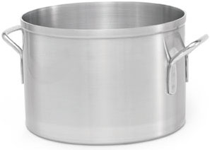 Vollrath 67434 Wear-Ever Classic Aluminum Sauce Pot 34 Qt.