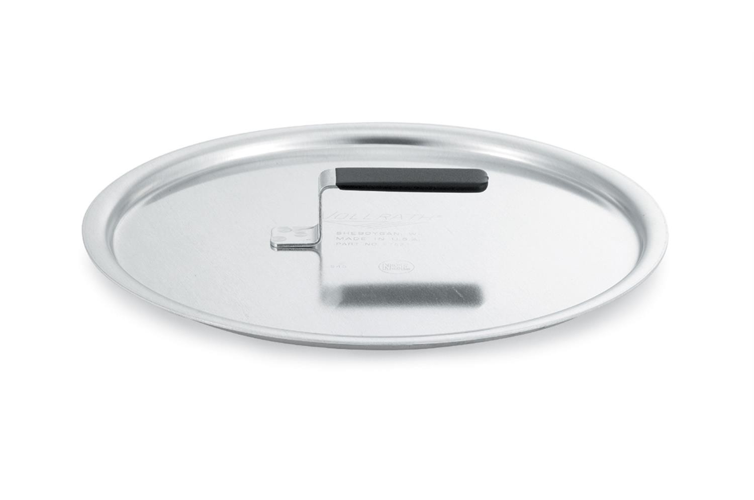 Vollrath 67521 Wear-Ever Flat Aluminum Cover with Torogard Handle 12-3/4