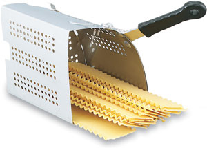 Vollrath 68134 Stainless Pasta Basket Insert with Handle