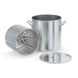 Vollrath 68273 Wear-Ever Aluminum Boiler / Fryer Set 80 Qt.