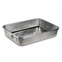 Vollrath 68361 Aluminum Roasting Pan Top with Straps 29-1/2 Qt.