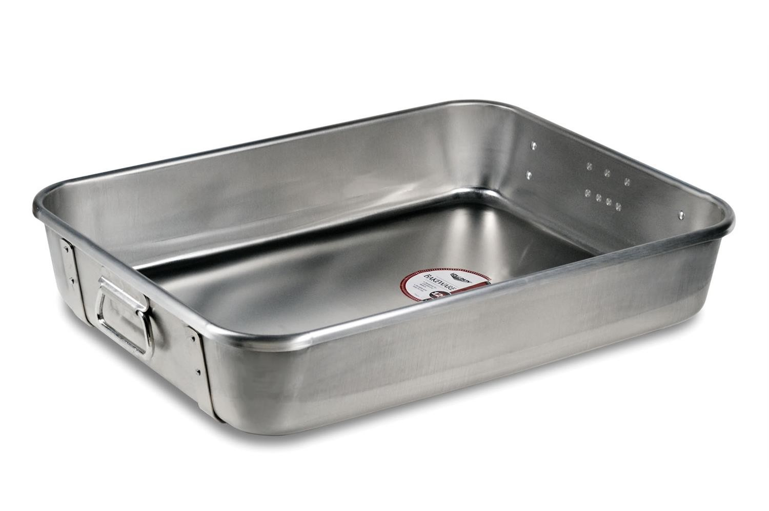 Vollrath 68361 Aluminum Roasting Pan Top with Straps 29.5 Qt.
