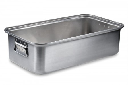 Vollrath 68367 Wear-Ever Aluminum Roast Pan with Handles (Bottom) 17.75 Qt.