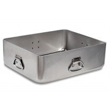 Vollrath 68391 Wear-Ever Heavy Duty Aluminum Roast Pan with Handles 42 Qt.