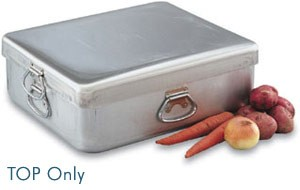 Vollrath 68392 Wear-Ever Heavy-Duty Aluminum Roast Pan Cover with Handles 14 Qt.