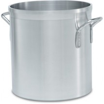 Vollrath 68700 Heavy-Duty Aluminum 120 Qt Stock Pot