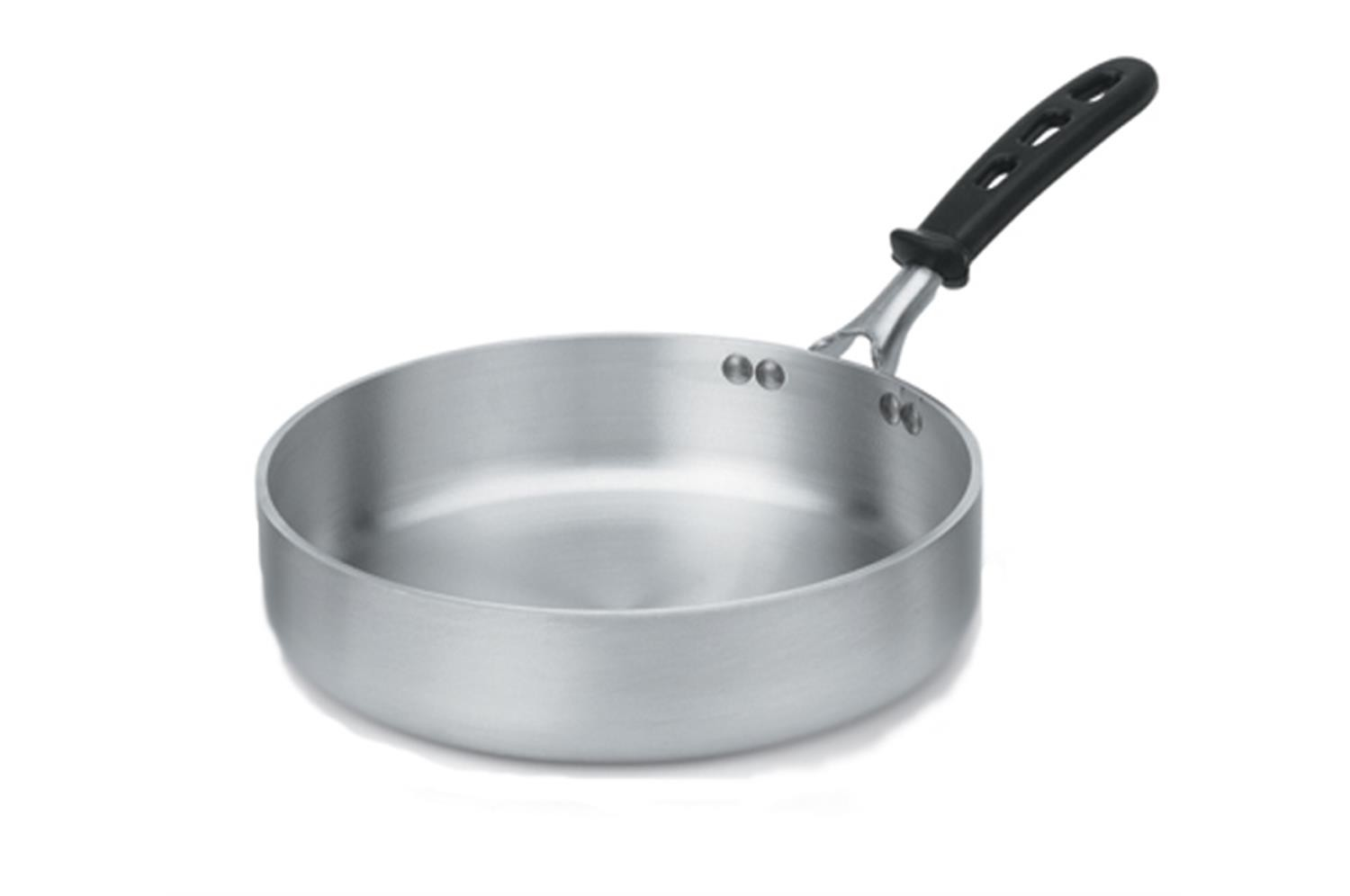 Vollrath 68733 Heavy Duty Aluminum 3 Qt Saute Pan