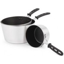 Vollrath 69308 Aluminum 8-1/2 Qt Tapered Non-stick Sauce Pan