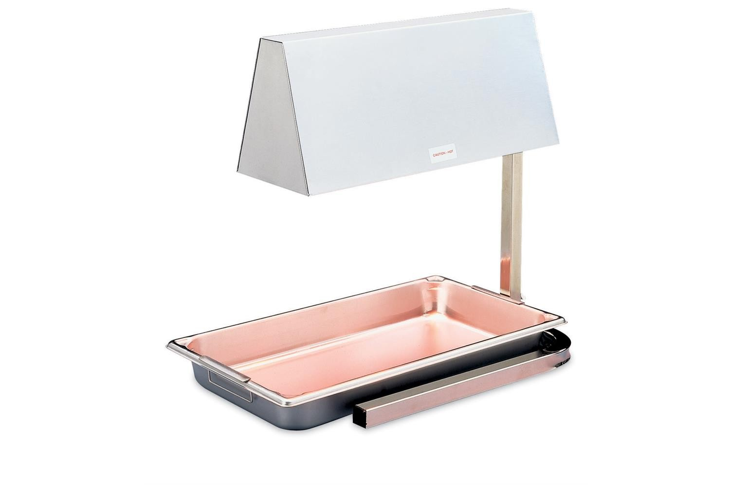 Vollrath 71500 Heat Lamp with a Base for Full Size Pans