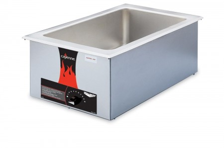Vollrath 72001 Cayenne Full Size Drop In / Countertop Food Warmer