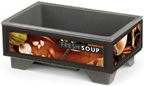 Vollrath 720200002 Full Size Soup Merchandiser Base with Tuscan Graphics