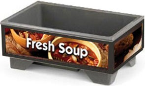 Vollrath 720200003 Full Size Soup Warmer Base Unit  With Country Kitchen Graphics