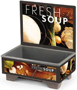 Vollrath 720200102 Full Size Soup Warmer Base Unit  With Tuscan Graphics