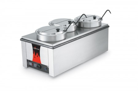"Vollrath 72788 Cayenne 4/3 Size ""Heat n' Serve"" Countertop Rethermalizer Package"