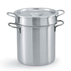 Vollrath 77110 Stainless Steel Double Boiler Set 11 Qt.