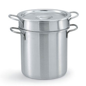 Vollrath 77130 Stainless Steel Double Boiler 20 Qt.