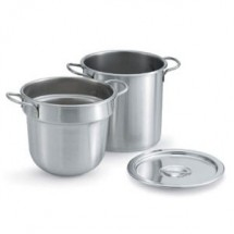 Vollrath 77133 Stainless Steel Double Boiler Inset Pan 20 Qt.