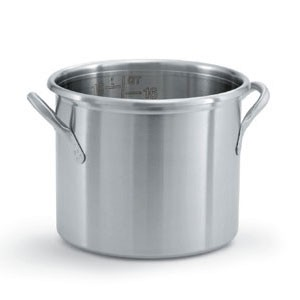 Vollrath 77600 Try Ply Stainless Steel Stock Pot 16 Qt.