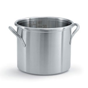 Vollrath 77610 Tri Ply Stainless Steel Stock Pot 20 Qt.