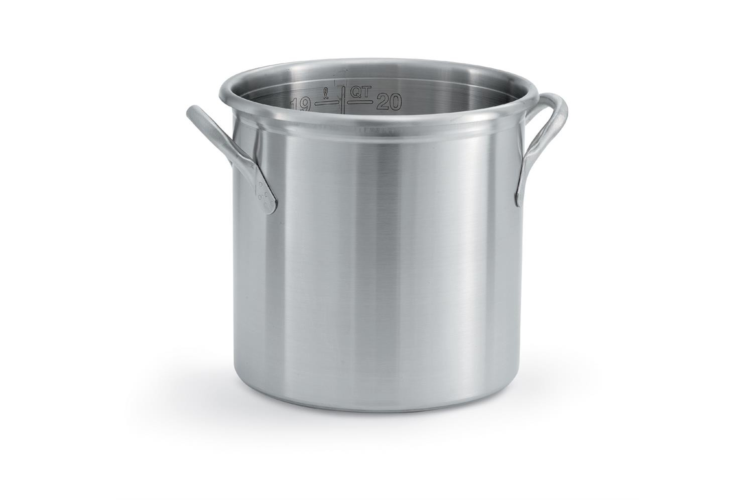 Vollrath 77620 Try Ply Stainless Steel Stock Pot 24 Qt.