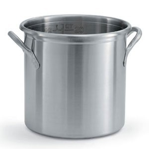 Vollrath 77630 Tri Ply Stainless Steel Stock Pot 38.5 Qt.