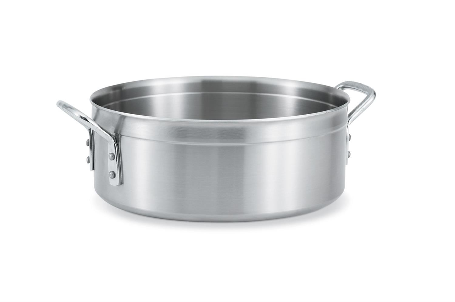 Vollrath 77761 Tribute Stainless Steel Brazier 15 Qt.