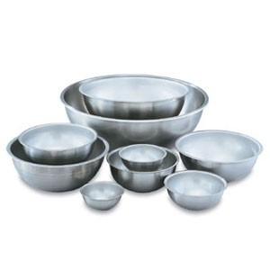 Vollrath 79450 Heavy Duty Stainless Steel Mixing Bowl 45 Qt.