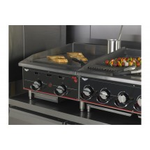 Vollrath 924GGM Cayenne Heavy Duty Countertop Griddle with Manual Controls 24""
