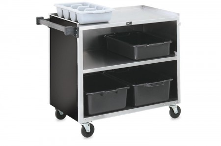 "Vollrath 97182 3 Shelf Bussing Cart 39-1/4"" x 21"" x 34-3/4"""