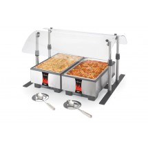 Vollrath MB98720  Mobile Countertop Breathguard 36