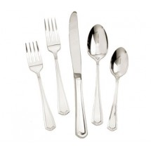 Walco 4412 Classic Silver Silverplated Bouillon Spoon 5-5/8""
