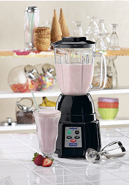 Waring BB185 44 oz. Nublend Bar Blender with Electronic Membrane Keypad