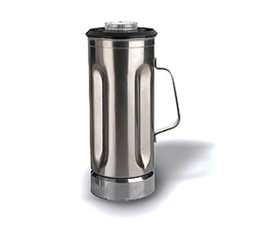 Waring CAC31 Stainless Steel Blender Container with Lid 64 oz.