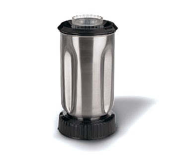 Waring CAC37 Stainless Steel Blender Container with Lid 32 oz.