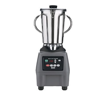 Waring CB15T Stainless Steel Food Blender with Electronic Keypad and Timer 1 Gallon