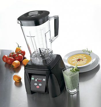 Waring MX1050XTX 64 oz. Xtreme High-Power Blender Blender with One Piece Removable Jar Pad