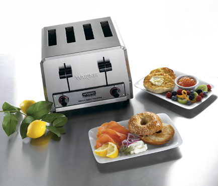 Waring WCT805B Heavy Duty Commercial Toaster 380 Slices Per Hour
