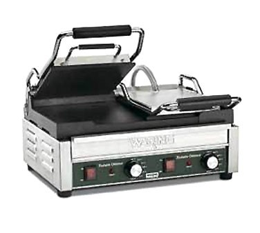 Waring WFG300 Commercial Tostato Supremo® Double Italina-Style Flat Grill