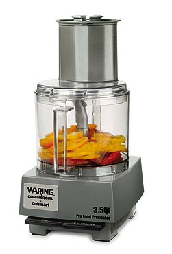 Waring WFP14S Bowl Cutter Mixer Food Processor 3.5 Qt. with LiquiLock Seal System
