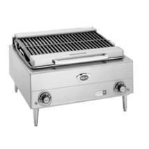 """Wells B40-208/240V 25""""W Electric Countertop Charbroiler"""