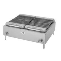 """Wells B50-208/240V 36""""W Electric Countertop Charbroiler"""